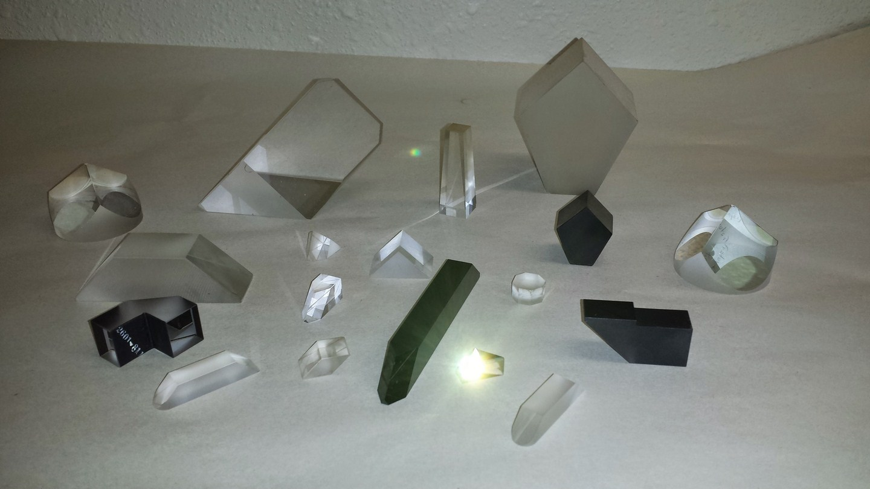 Prisms we manufacture
