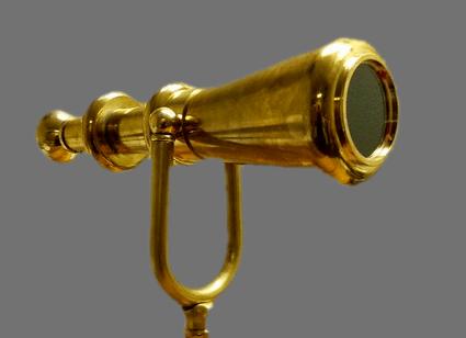 Finished Brass Scope
