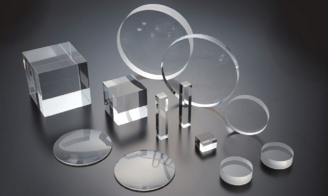 Round and Square Fused Silica Shape