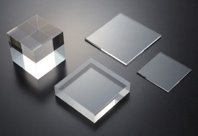 Square Fused Silica Shapes
